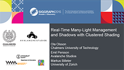 Real-time Many-light Management and Shadows with Clustered Shading